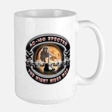 USAF AC-130 Spectre The Night Large Mug