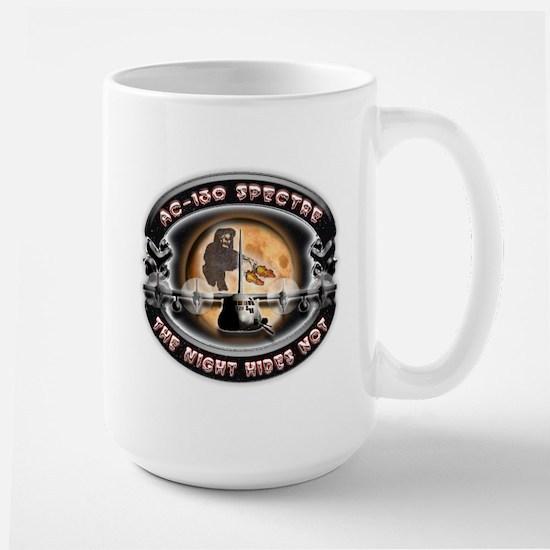 USAF AC-130 Spectre The Night Large Mug