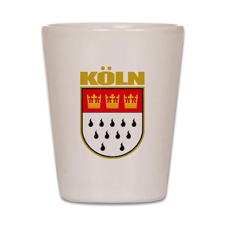 Koln/Cologne Shot Glass