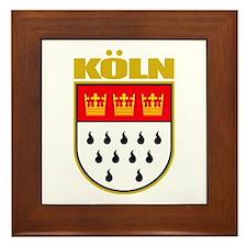 Koln/Cologne Framed Tile