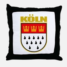 Koln/Cologne Throw Pillow
