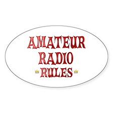 Amateur Radio Rules Decal