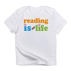 Rerading Is My Life Infant T-Shirt
