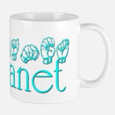 Janet -teal Mug