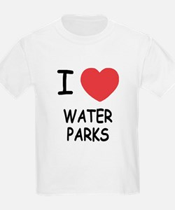 I heart water parks T-Shirt