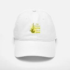 I'm Rockin' Yellow for my Son Baseball Baseball Cap
