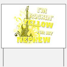 I'm Rockin' Yellow for my Nep Yard Sign