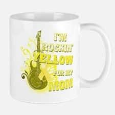 I'm Rockin' Yellow for my Mom Mug