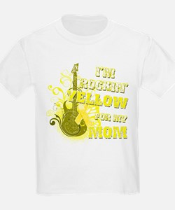 I'm Rockin' Yellow for my Mom T-Shirt