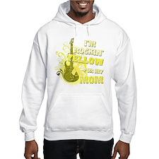 I'm Rockin' Yellow for my Mom Jumper Hoody