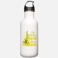 I'm Rockin' Yellow for my Gra Water Bottle