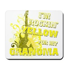 I'm Rockin' Yellow for my Gra Mousepad