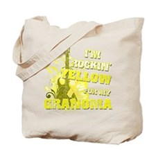 I'm Rockin' Yellow for my Gra Tote Bag