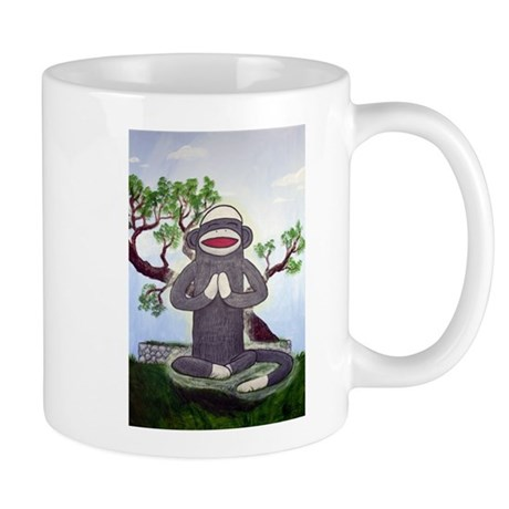 Sock Monkey Nirvana Mug