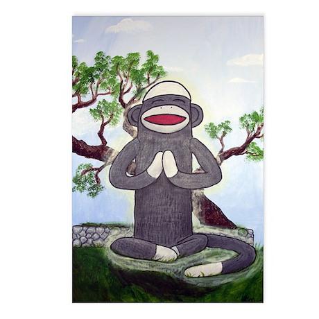 Sock Monkey Nirvana Postcards (Package of 8)
