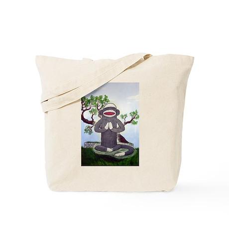Sock Monkey Nirvana Tote Bag