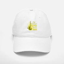 I'm Rockin' Yellow for my Dad Baseball Baseball Cap
