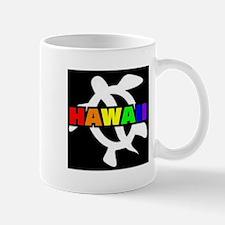 Rainbow Hawaii Turtle Mug
