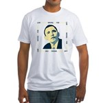 AntiObama 2012 Fitted T-Shirt
