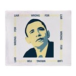 AntiObama 2012 Throw Blanket