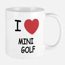 I heart mini golf Mug