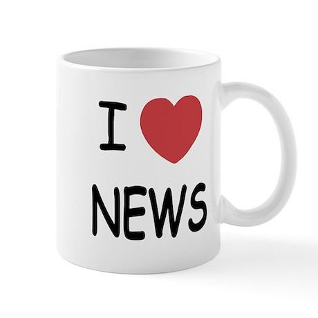 I heart news Mug