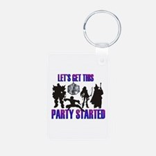 Party Started Keychains