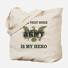 Personalizeable Army Hero Tote Bag