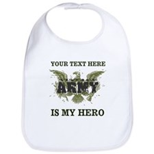 Personalizeable Army Hero Bib