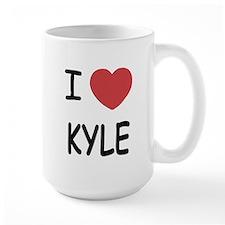 I heart kyle Mug