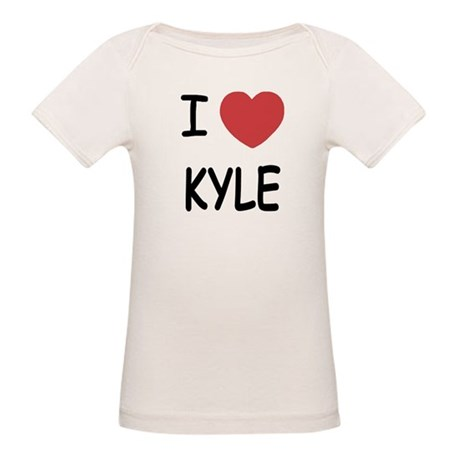I heart kyle Organic Baby T-Shirt