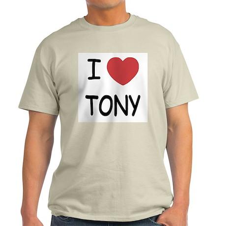 I heart tony Light T-Shirt