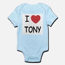 I heart tony Infant Bodysuit