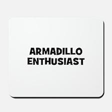 Armadillo Enthusiast Mousepad