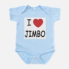 I heart jimbo Infant Bodysuit