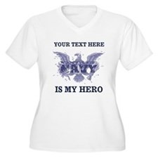 Personalizeable Navy Hero T-Shirt
