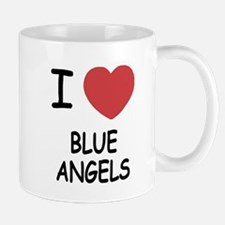 I heart blue angels Mug