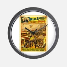 The Grand 5-Continent Menagerie Wall Clock