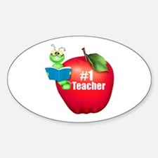 Number One Teacher Decal
