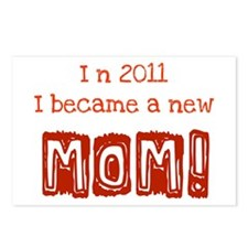 New Mom 2011 Postcards (Package of 8)
