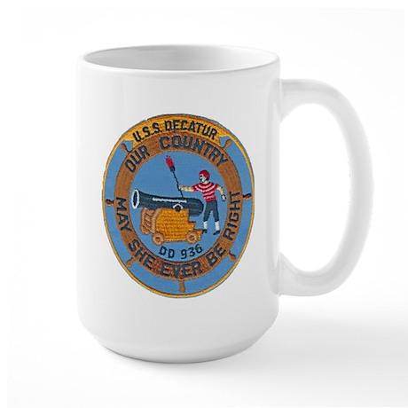USS DECATUR Large Mug
