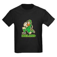 Ireland Leprechaun Rugby T