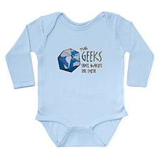 Geeks Inherit Long Sleeve Infant Bodysuit