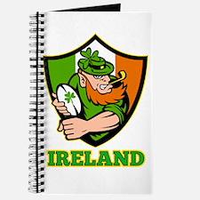 Ireland Leprechaun Rugby Journal