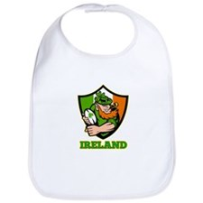 Ireland Leprechaun Rugby Bib