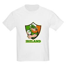 Ireland Leprechaun Rugby T-Shirt