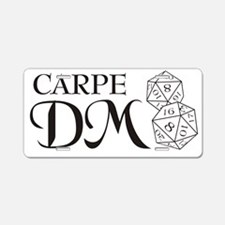 Carpe DM Aluminum License Plate