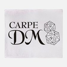 Carpe DM Throw Blanket