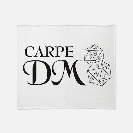 Carpe DM Throw Blanket