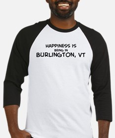 Happiness is Burlington Baseball Jersey